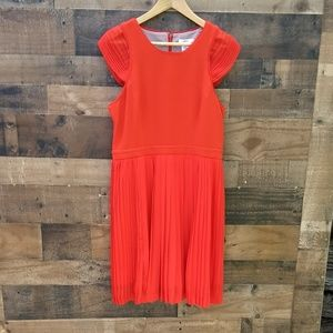 Esley red dress